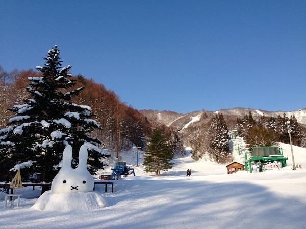 かたしな高原雪像