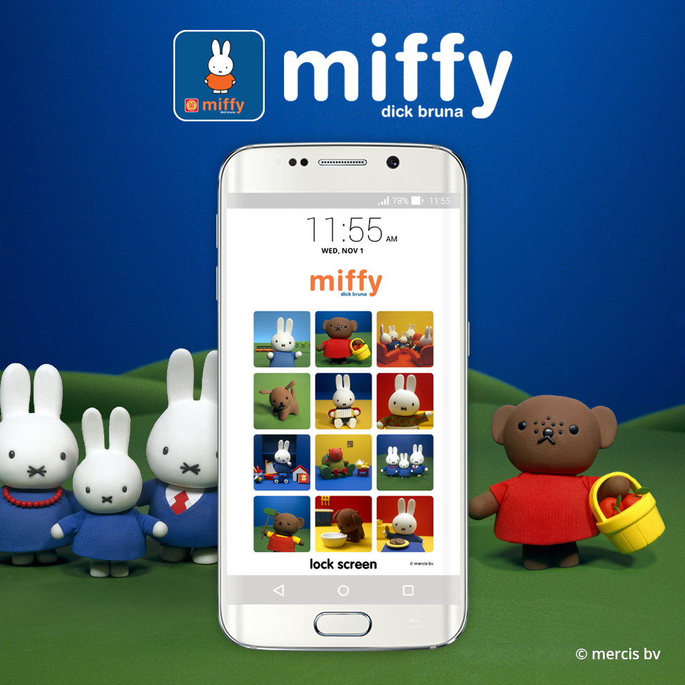 miffy lock screen